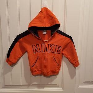 Nike hoddie jacket for kid